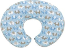 Chicco Boppy Stillkissenbezug Elephants Blue