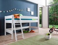Relita Halbhohes Spielbett Kim (ohne Textilset) (weiß) (BH1131117)