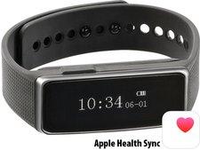Newgen Medicals Fitness-Armband FBT-40 mit Schlafüberwachung