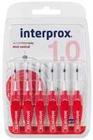 Halita Interprox Interdentalbürsten miniconical rot 1mm (6 Stk.)