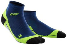 CEP Low-Cut Socks lime / pink