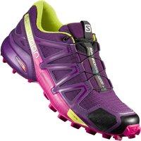 Salomon Speedcross 4 Women cosmic purple/deep dalhia/gecko green