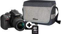 Nikon D3400 Kit 18-55 mm schwarz