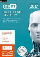 ESET Multi Device Security 2017 (DE) (Win/Mac/Linux) (5 Geräte) (1 Jahr) (Box)