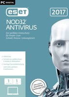 ESET NOD32 Antivirus 2017 (Win/Mac) (1 Device) (1 Year)