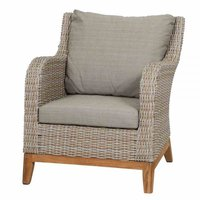 Siena Garden Almada Sofa-Sessel oak-grey ( 357623)