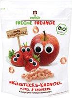 erdbär Freche Freunde Frühstückskringel Apfel & Erdbeere (125g)