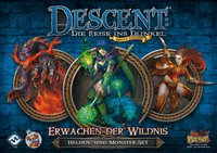 Heidelberger Spieleverlag Descent 2. Edition: Erwachen der Wildnis Helden- und Monster-Set
