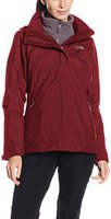 The North Face Damen Evolution II Triclimate Jacke Deep Garnet Red