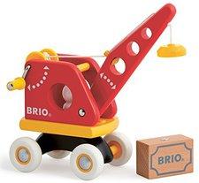 Brio Roter Kran mit Ladung (30428)