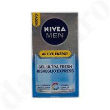 NIVEA FOR MEN Active Energy Gesichtspflege Gel (50ml)