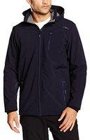 CMP Campagnolo Man Softshell Jacket Zip Hood (3A40537) B.Blue/Smoked