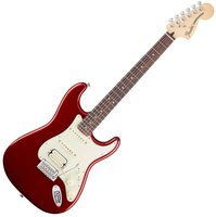 Fender Mexican Deluxe Stratocaster HSS Candy Apple