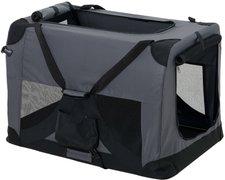 Pro Tec Hundetransportbox grau faltbar S (2399)