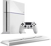 Sony PlayStation 4 (PS4) 500GB (weiß) + Vertikaler Standfuß