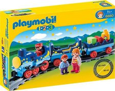 Playmobil 1.2.3 Sternchenbahn mit Schienenkreis (6880)