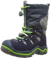 Keen Winterport II Waterproof Junior midnight navy/jasmine green