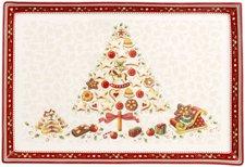 Villeroy & Boch Winter Bakery Delight Gebäckplatte groß 39 x 26,5 cm