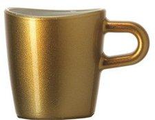Leonardo Loop Espressotasse ambra metallic