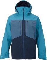 Burton AK 2L Swash Snowboard Jacket Larkspur / Washed Blue / Eclipse