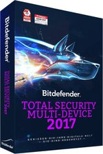 BitDefender Total Security Multi-Device 2017 (5 Geräte) (2 Jahre)