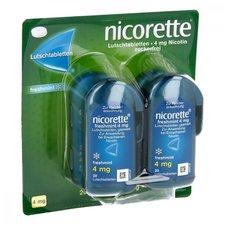 Johnson & Johnson Nicorette Freshmint 4 mg Lutschtabletten (4 x 20 Stk.)