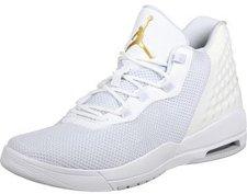 Nike Jordan Academy white/pure platinum/metallic gold coin