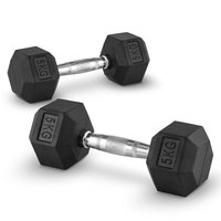 Capital Sports Hexbell Dumbbell Kurzhantel Paar