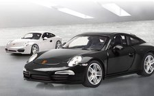 Jamara Porsche 911 1:24 Diecast schwarz (405061)