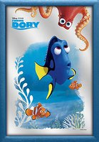 Close Up Finding Dory Wandspiegel Dory & Friends