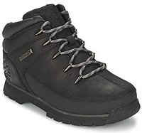 Timberland Eurosprint Jr black smooth with grey