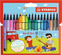 Stabilo Pen 68 Mini 18er Kartonetui