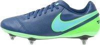 Nike Tiempo Genio II Leather SG coastal blue/rage green/polar blue