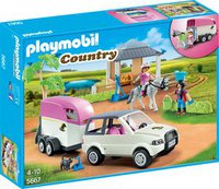 Playmobil Country Reitstall mit Pferdetransporter (5667)