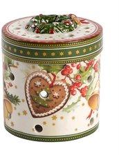 Villeroy & Boch Christmas Toys Geschenkpaket klein rund Weihnachtsmarkt 9cm