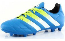 Adidas Ace 16.3 FG Men shock blue/semi solar slime/white (AF5163)