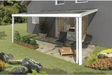 Skanholz Modena 541 x 257 cm, weiß, Verbund-Sicherheits-Glas