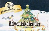 Goldmaennchen Tee Adventskalender Tanne (2016)