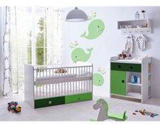 Ticaa Cubo Babyzimmer 3-tlg. grün