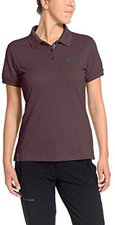 Vaude Women's Marwick Polo Shirt II dark plum