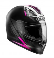 HJC FG-17 Valve schwarz/pink