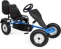 TecTake Go-Kart 2-Sitzer blau