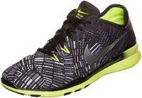 Nike Free 5.0 TR Fit 4 PRT Wmn black/metallic silver/volt