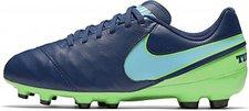 Nike Jr. Tiempo Legend VI FG coastal blue/polarized blue/rage green