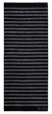 Joop! Classic Stripes Saunatuch schwarz (80x200cm)