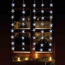 FHS-International Leuchtvorhang Sterne (6044)