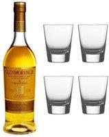 Glenmorangie Original 10 Jahre mit 4 Gläsern 0,7l 40%