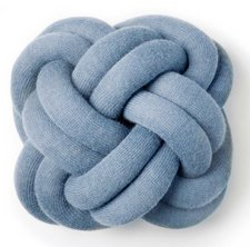 Design House Stockho Knot Kissen blau