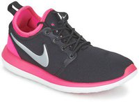 Nike Roshe Two GS black/hyper pink/vivid pink/metallic platinum