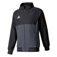 Adidas Herren Tiro17 Präsentationsjacke black/ dark grey/ white